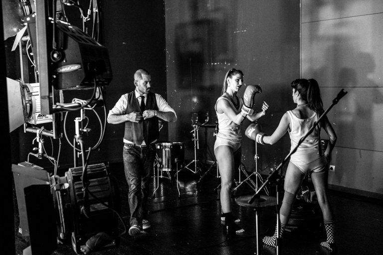 O KOSMOS backstage photo by © Karol Jarek (35)